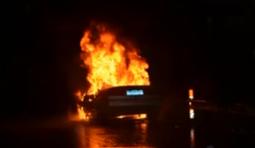 江门司机逃离自燃车辆却被撞死