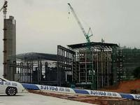 广州坍塌电厂内部曝光:投资达8.2亿 已拉起封条