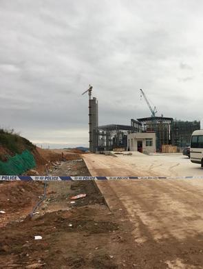 广州一电厂操作平台倒塌致9人亡