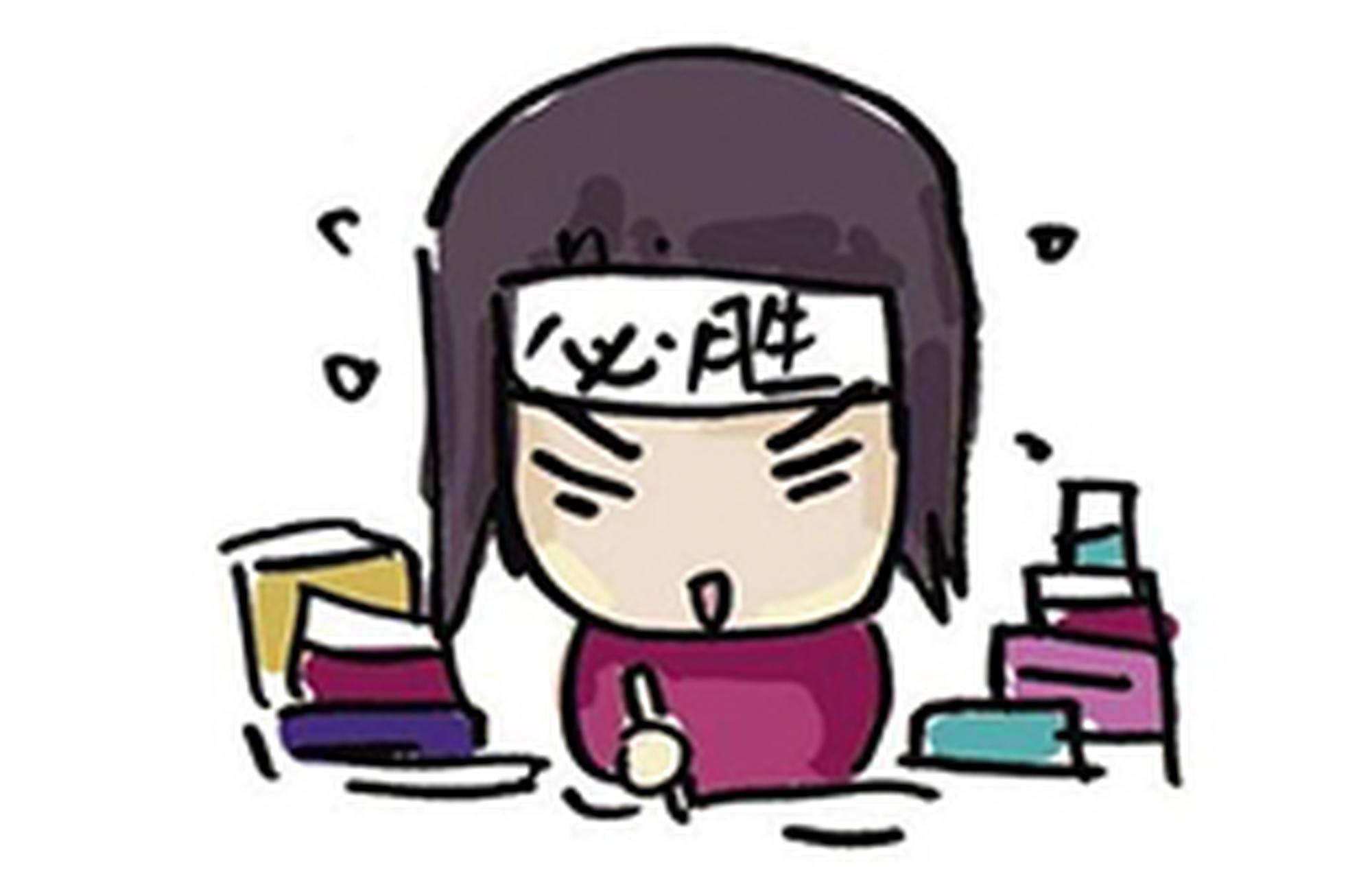 过半高三学生每天写作业超3小时