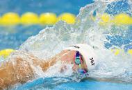 傅园慧女子100米仰泳夺冠