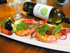 罗勒酱老虎虾 体验更多独特西班牙口味