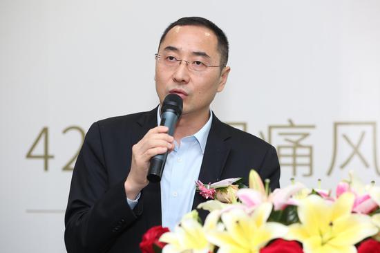 合谐医疗董事长黄智敏介绍公益行动内容