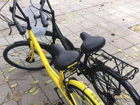 女子盗窃共享单车将车拆锁喷漆进行改装