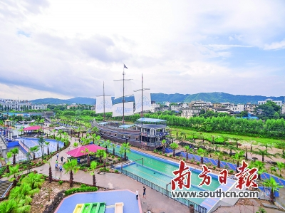 佛冈正全力推进创建广东省全域旅游示范县。程浩 摄
