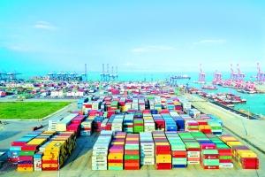 广州南沙港集装箱码头