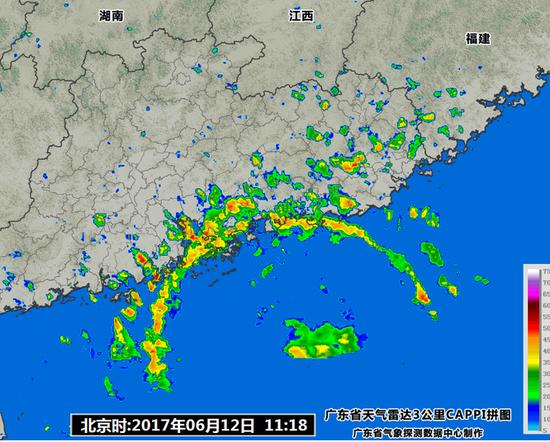 国家海洋预报台:台风苗柏最大可能登陆地点是香港