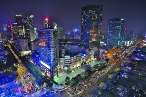 天河CBD聚集了众多跨国公司总部。广州日报全媒体记者王维宣 摄