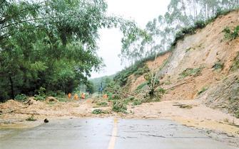 恩平特大暴雨逾1500名群众被救