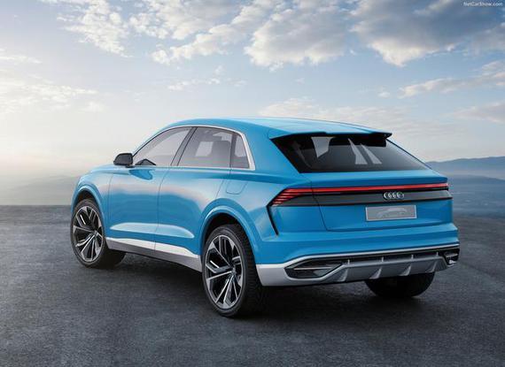 奥迪大爆发 将于2018年在华推8款新车
