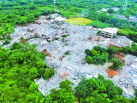 上半年广州拆违法建设1200余宗 总面积超500万平方米