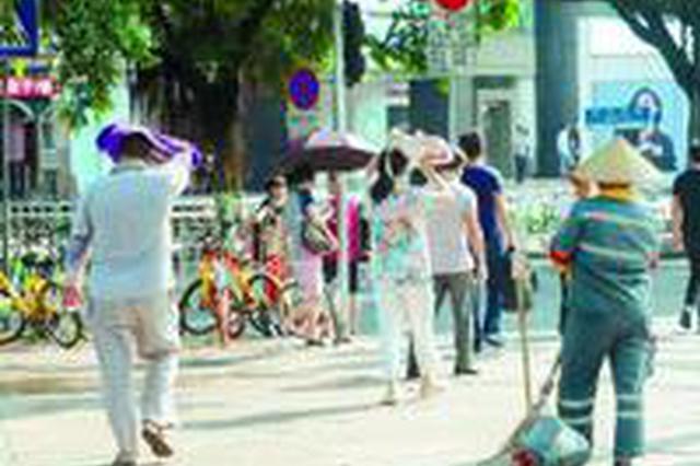 昨日广州最高温达37.4℃ 今年首个高温橙色预警发布