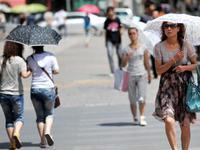 今明两天广州以晴朗炎热天气为主 最高气温达36℃
