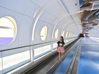"""广州白云机场""""海天走廊""""揭开神秘面纱 畅享古今未来"""