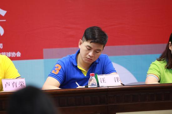 古镇镇委宣传办公室副主任汪洋先生