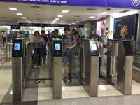 顺德港增设6条新型出入境自助通道 7秒可自助通关