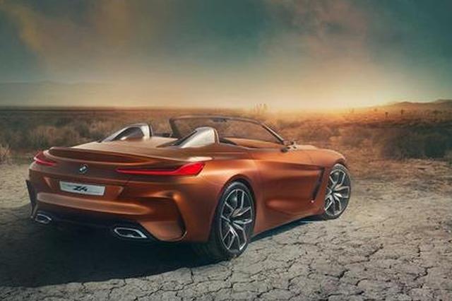 宝马全新Z4概念车发布 新设计极富冲击力