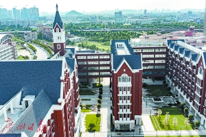 佛山首所纯国际高中美伦国际学校。