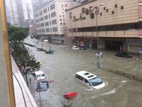 台风天鸽通过澳门致3死多伤 约20名轻伤者被送医