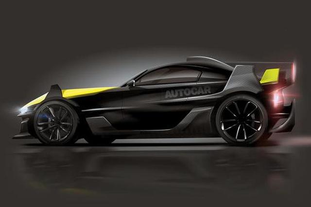 英公司将推纯电动全驱超跑 可达1180马力