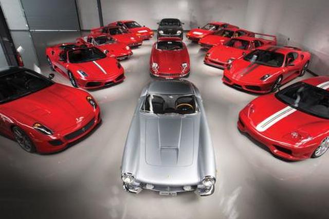 法拉利经典车型拍卖 总成交额达1.1亿元