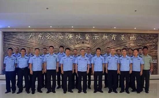 湛江坡头公安局:开展廉政警示教