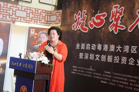 广东省传统文化促进会高级顾问、广东省民政厅李建辉博士