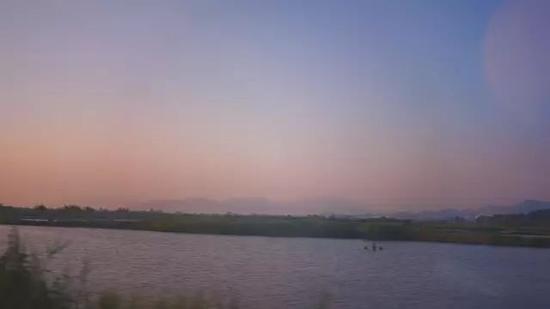 接近傍晚的日色太美,随手一拍都如画
