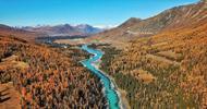 新疆喀纳斯如童话世界