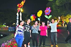 广州重阳前夜18个登高点迎来逾10万人