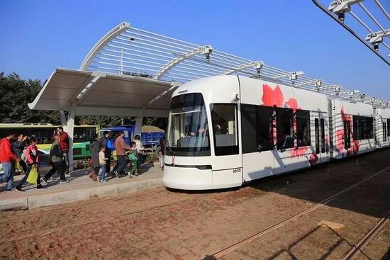 黄埔首条有轨电车动工 预计2020年开通5站与地铁接驳
