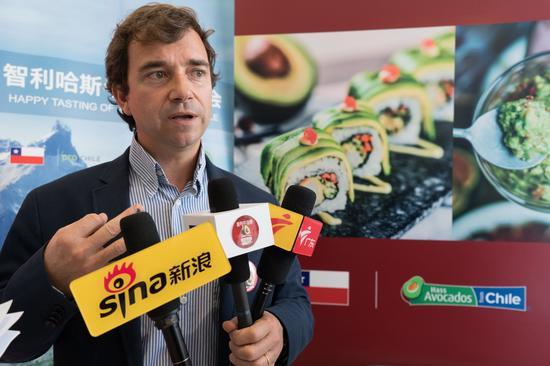 智利哈斯牛油果协会经理胡安·安立奎·拉索