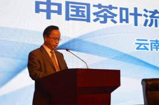 清远市副市长雷玉春以《南粤茶乡醉美英德》为题作陈述报告