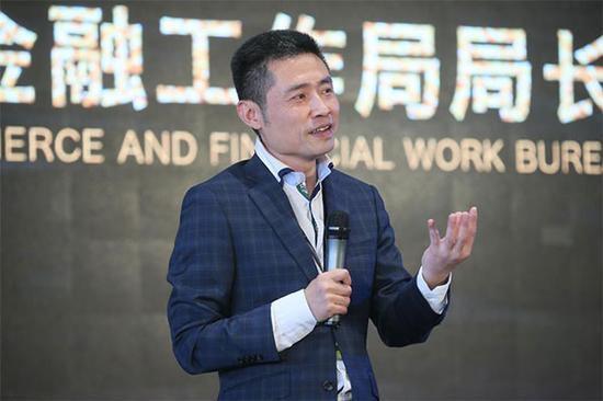 广州天河区商务和金融工作局局长张海波