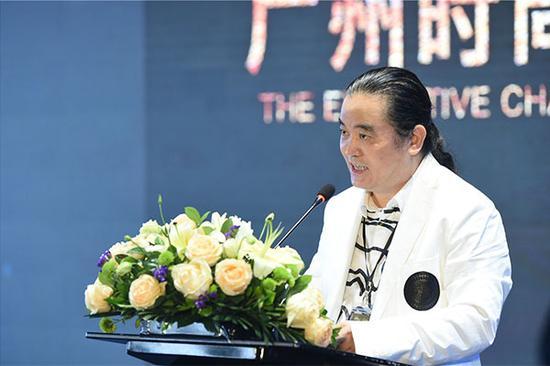 广州时尚周组委会主席李基海演讲