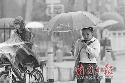 周末有较强冷空气来袭 广东将降温6至8℃入秋成功在望