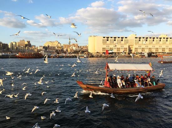 ▲ 迪拜老城区CREEK河畔