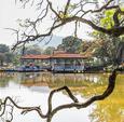 马来西亚湖滨小镇