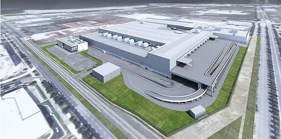 戴森公布了新加坡电动车工厂的渲染图