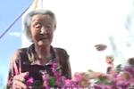 百岁老太太爱吃零食 每天偷偷翻墙去院子里赏花