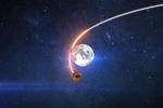"""印度""""月船2号""""着陆器成功分离,开始朝月球表面飞行"""