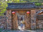 豫西百年石头窑院