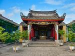 中式风的越南小镇