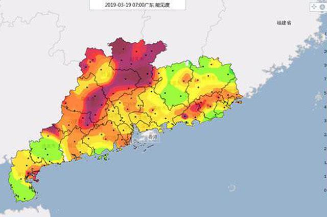 广东气温直逼30℃冷空气却在路上 22日前后携雨入粤