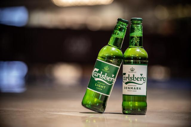 """嘉士伯啤酒全球新品""""绿光破晓""""首现广州"""