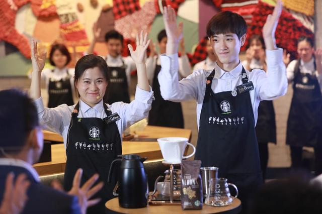 星巴克中国首家手语门店