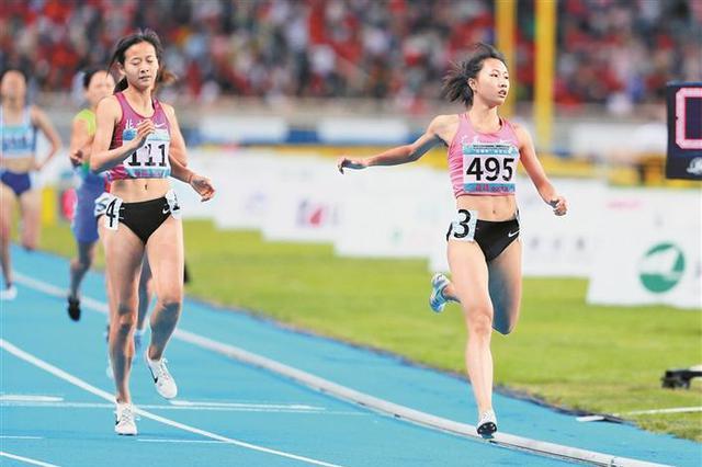 深圳代表团在二青会夺39枚金牌