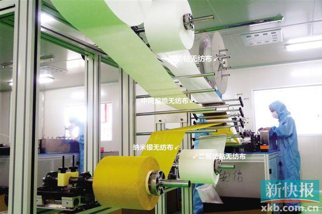 广东造可重复使用口罩出口欧盟 日产15万-18万只