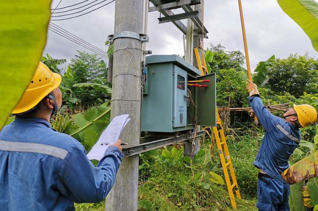 """广东电网:受台风""""鹦鹉""""影响用户已全部恢复用电"""