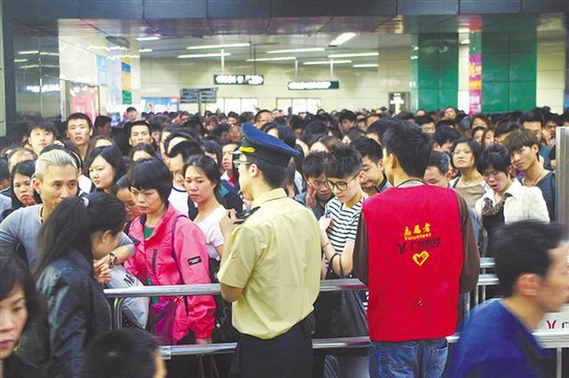 地铁出行占广州公共交通出行总量54%